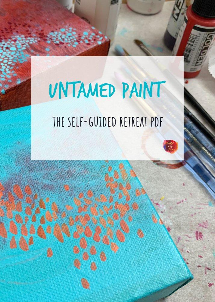 High flow acrylic paint class, acrylic paint class online