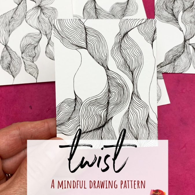 Twist: A Mindful Drawing Pattern