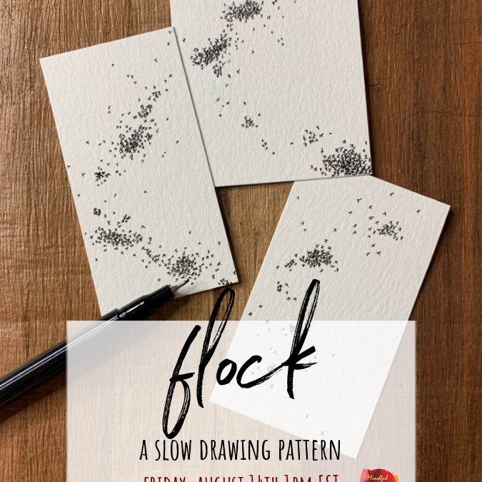 Flock: A Slow Drawing Pattern Party