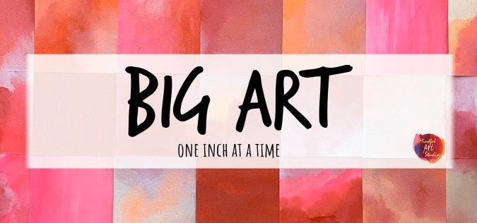 inchie art, big art pieces