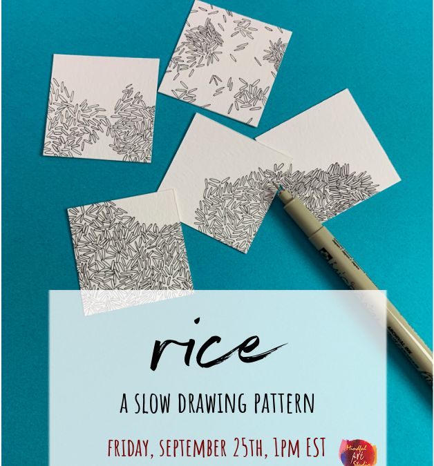 Slow Drawing Party: Rice