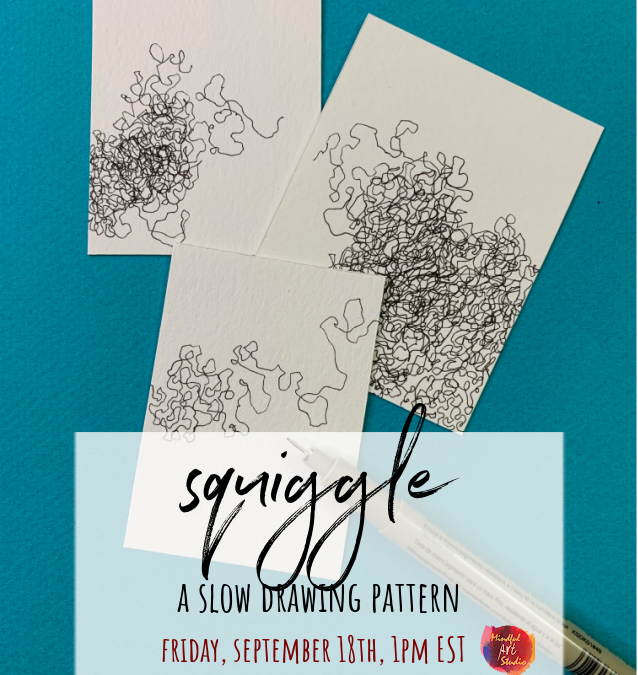 Slow Drawing Party: Squiggle