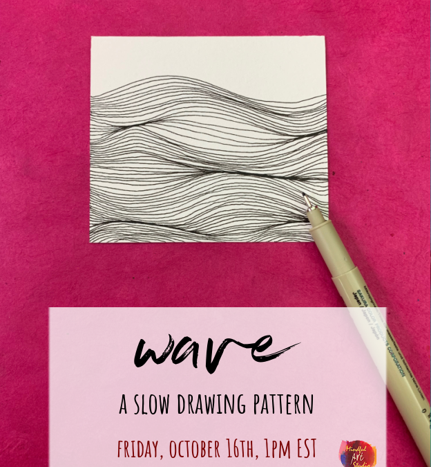 Slow Drawing Party: Wave