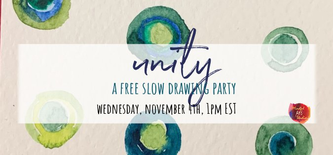 Unity: A Slow Painting Party