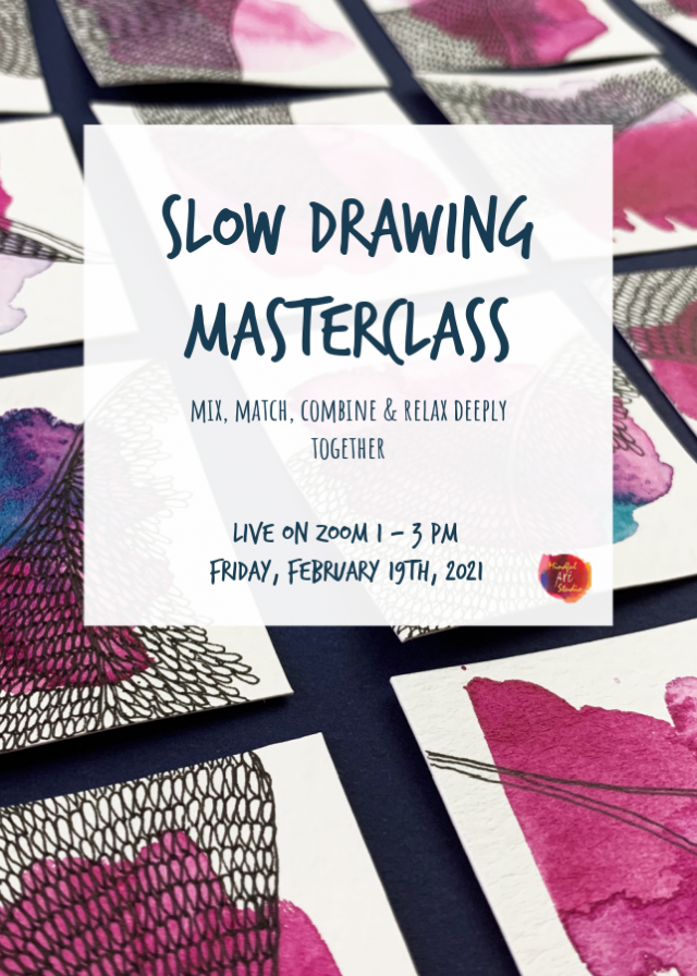 slow drawing classes