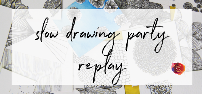 Slow Drawing Party Replay