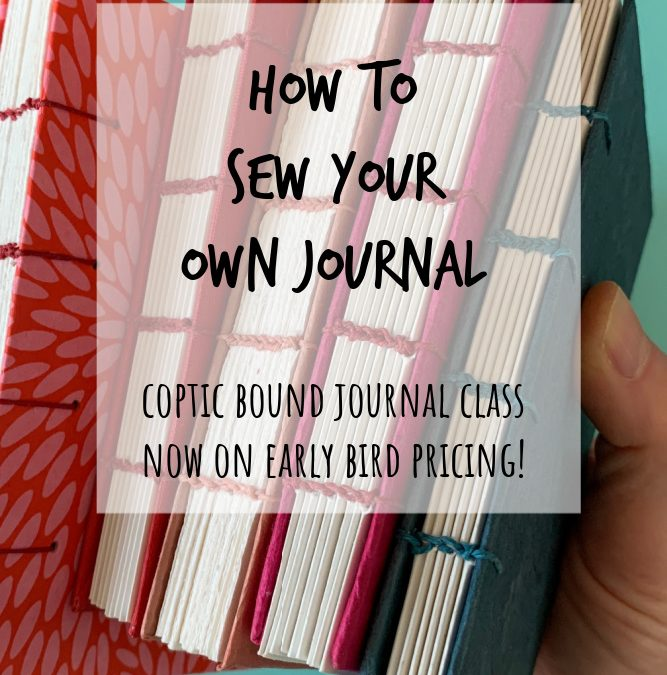 How to Sew Your Own Journal