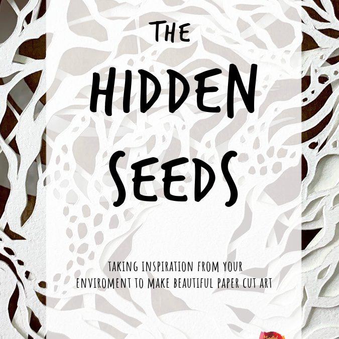 Hidden Seeds: Organic Paper Cut Art Journal Self-Guided PDF