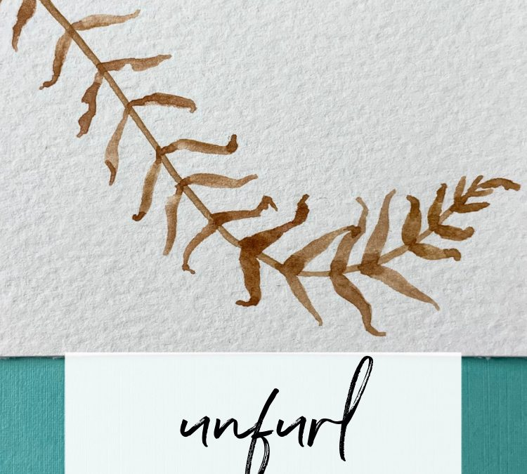 Unfurl: A Slow Painting Pattern